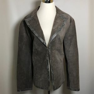 Elana by Tanner L Large Women's Jacket Leather